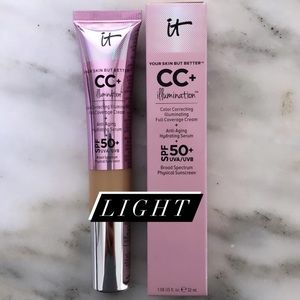 IT Cosmetics CC+ Cream with SPF 50 in Light